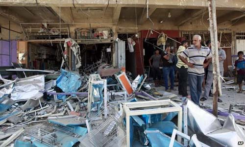 Suicide Car Bombs Kills 21 In Baghdad : Iraq violence