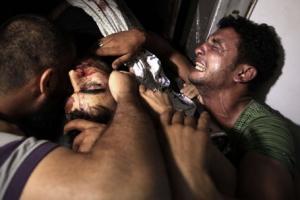 chliden killed men crying