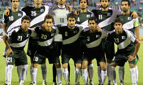 Pakistan football team 2014