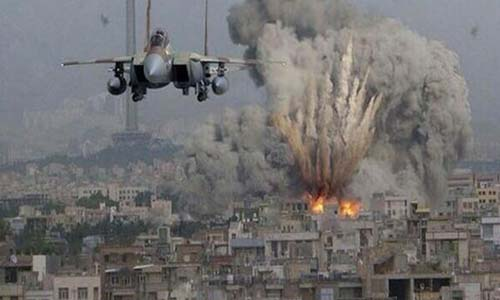 Israel intensified its bombardment