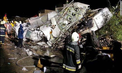51 Killed in Taiwan Plane Crash