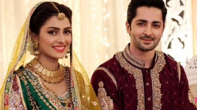 The Beautiful Aiza Khan and Dashing Danish Taimoor Wedding