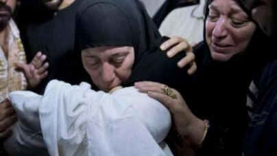 Family of Hamas Military Chief Buried in Gaza