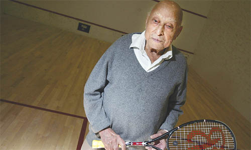 Hashim Khan Squash Legend Died
