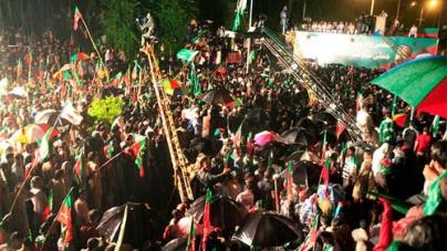 PTI Chief Imran Khan Warns Of Countrywide Wheeljam