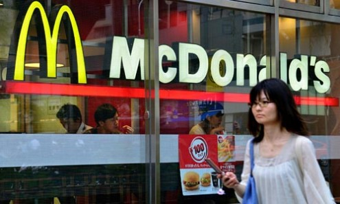 McDonald's takes Chinese