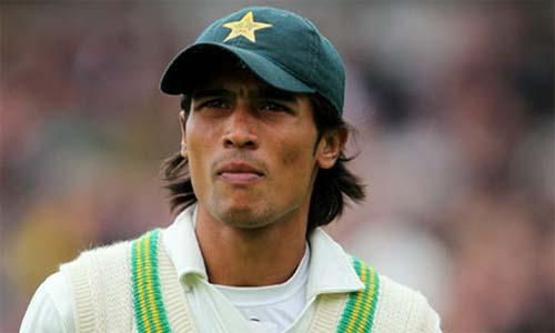 Pakistani cricketer Mohammad Aamer