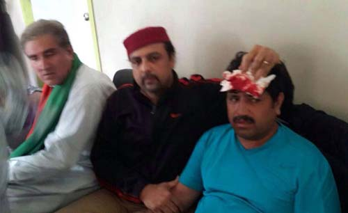 PML-N and PTI workers clash