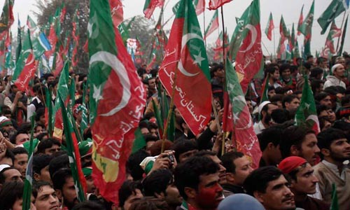 PTI Workers Asked to 'Besiege' Police Stations if Threatened