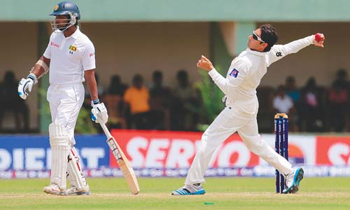 Saeed Ajmal Reported For Suspect Action