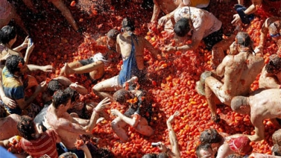 Spanish Tomato Throwing Festival