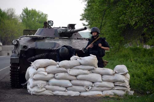 Ukrainian troops killed