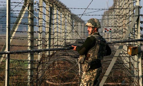 Indian BSF soldier arrested