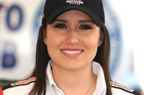 Ashley Force Hood