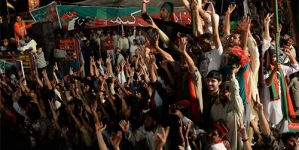 Azadi March Sit-in Drawing Crowds Again