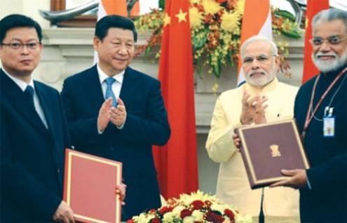 China to invest india
