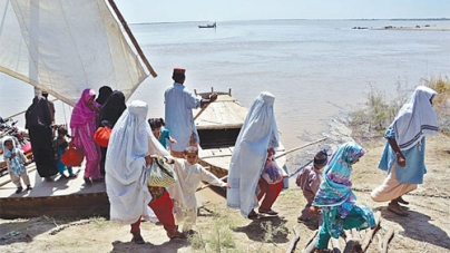 Flood Peak Enters Sindh