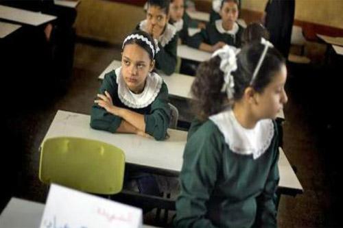 Gaza children back to school