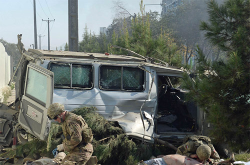 'Huge Explosion' Rocks Afghanistan's Capital