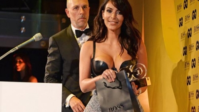 Kim Kardashian Wins GQ's Woman Of The Year Award 2014