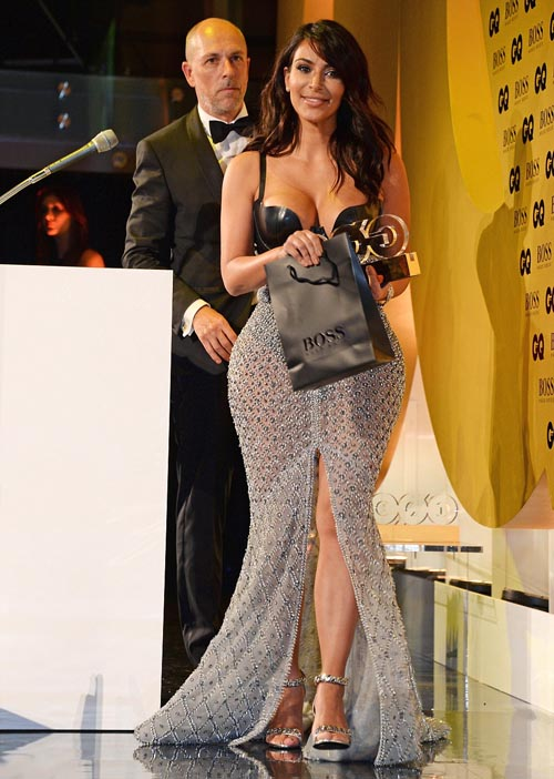 Kim Kardashian received award