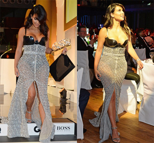 Kim Kardashian received award 2014