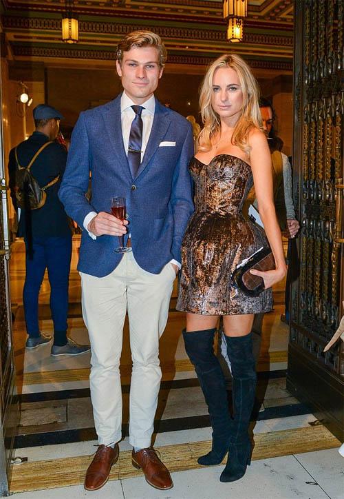 Kimberley Garner with boyfriend