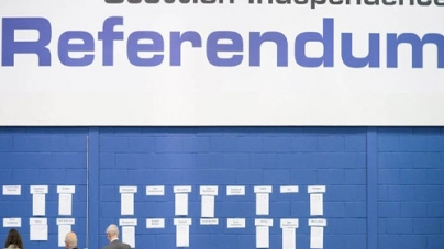 Scotland 'No' Votes Have Sizable Lead