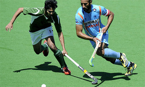 Pakistan beat India hockey match