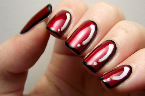 Red Nail care