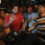 shahid afridi talk to media
