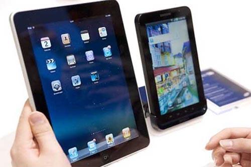 Tablet sales slow