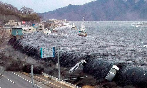 Tsunami in Karachi