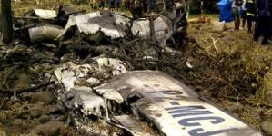 Colombian Plane Crash in Jungle