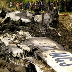 Colombian Plane Crash in Jungle