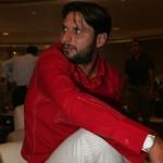 shahid afridi red shirt