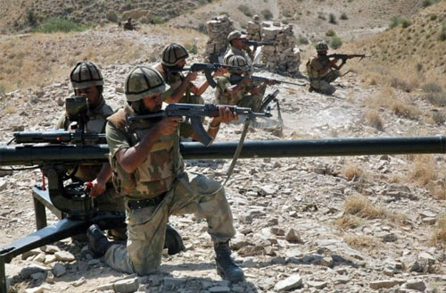 21 Militants, 8 Soldiers Killed in Khyber Clash