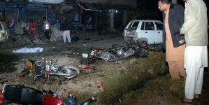 Blast Outside Karachi imambargah Kills Girl