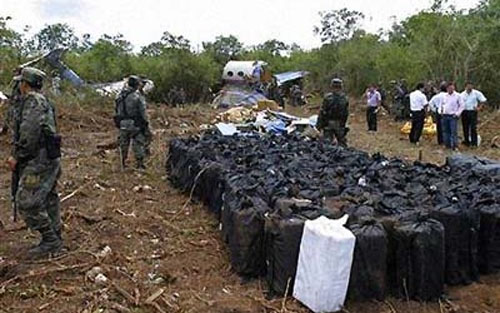 CIA Jet Crashed With 4 Tons Of Cocaine On Board