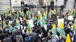 London March Highlights Kashmir Issue