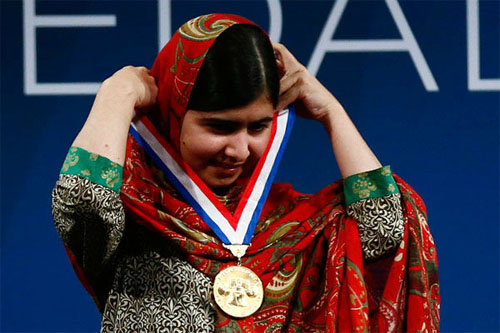 Malala Liberty Medal