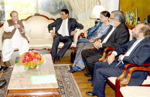 PM Nawaz Sharif Cools Down MQM Temper