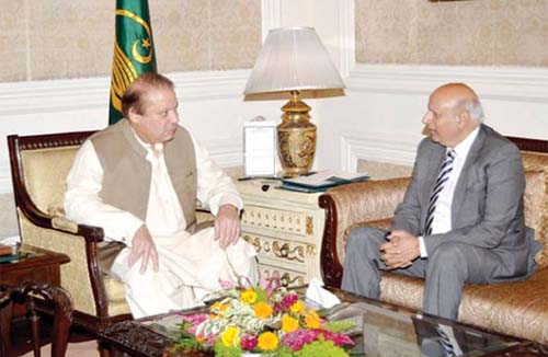 Punjab Governor Sarwar Remains Noncommittal Despite Prodding by PM