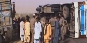 Road Accident Kills 10 Balochistan's Lasbela