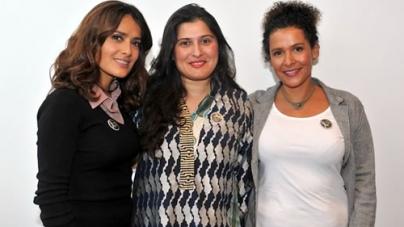 "Sharmeen Obaid-Chinoy upcoming film ""Humaira"" in production of Salma Hayek"