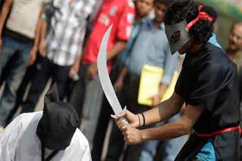 Saudi Arabia beheads