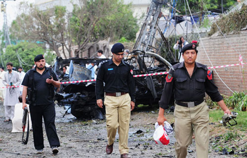 School Teacher Killed in Peshawar Blast
