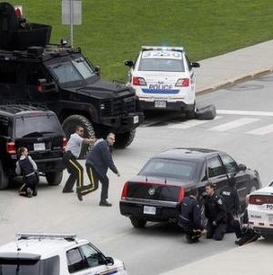 Canadian PM Calls 'Brutal and Violent' Parliament Attack Terrorism