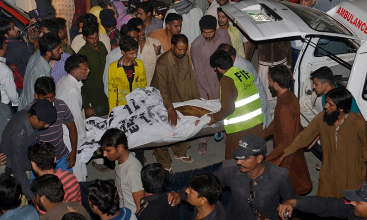 Suicide Attack:Blast at Wagah border, 57 killed 200 Injured