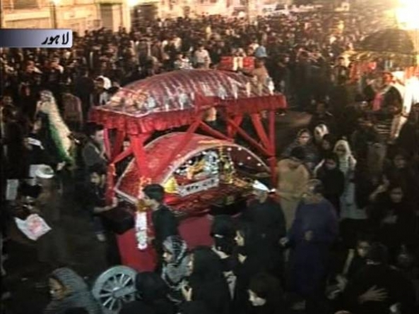 Countrywide Mourning Processions Mark Youm-e-Ashur